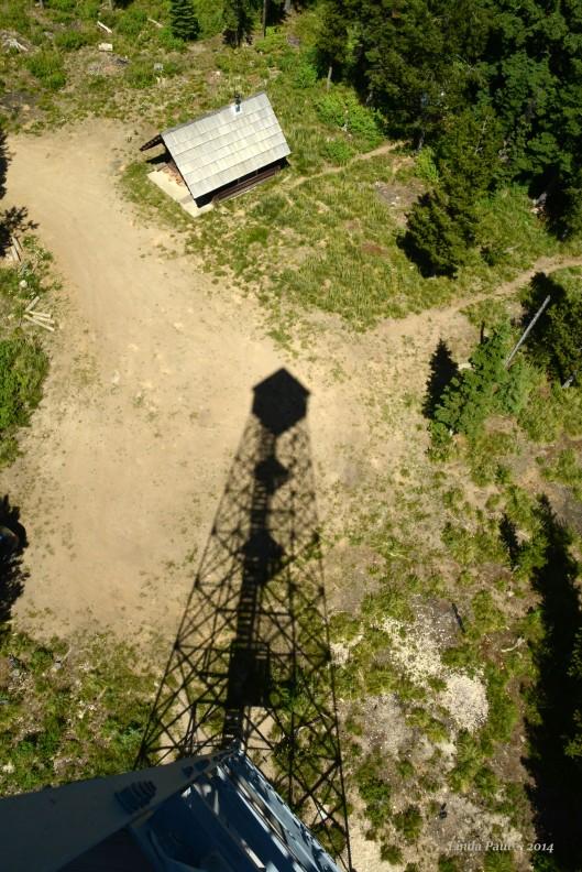 Elk Summit Lookout; elevation: 6,386 ft; Nez Perce Forest