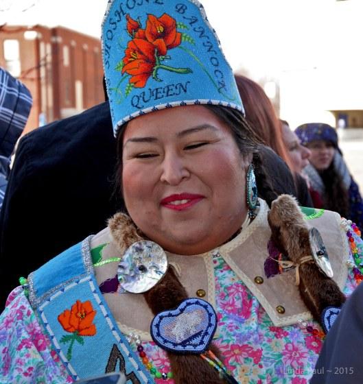 Representing the Shoshone-Bannock tribe