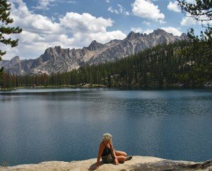 Alpine Lake; Sawtooth National Recreation Area