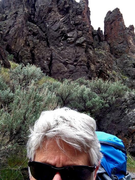 The canyon walls hugged us graciously.