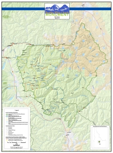 Proposed Monument area
