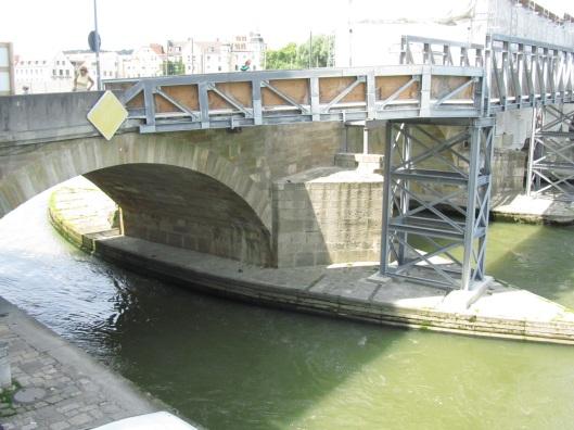 Bridge over the Danube, built in 1135.