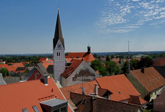 The town of Vohburg