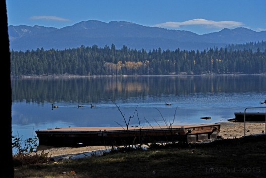 Iconic view of Payette Lake