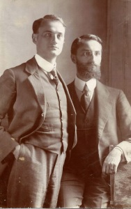 Herman & his brother, Willy circa 1914