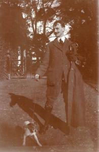 Herman & his dog
