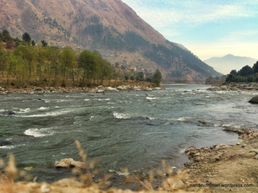 Nandini's River Bea, draining from the Himalayas