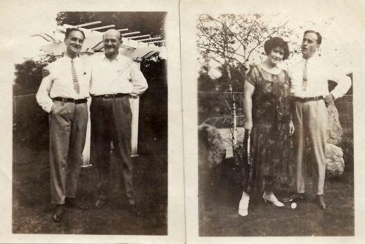 Herman & Adolf; Norah & Herman