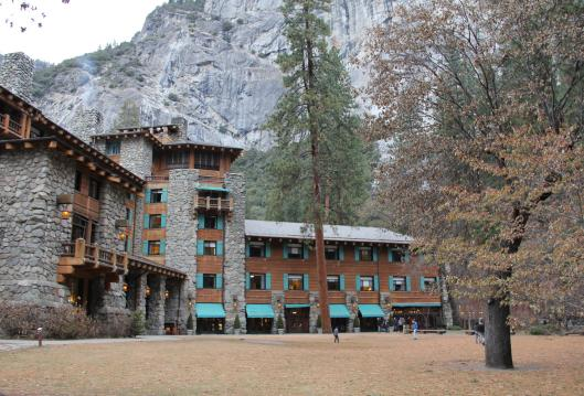 Formerly known as The Ahwahnee Hotel; photo by Joe Moore - Valley Public Radio