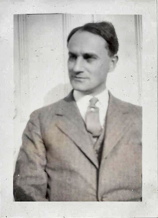 Herman, Yry's father; 1927