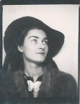 Yry's imitation shot in a photo booth in 1939.