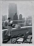 Yry on the roof of the Barbizon 1934