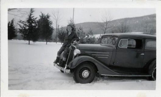 Celebrating New Years 1934-35 at Joe's