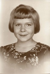 Joan in the second grade - 1950